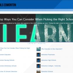 Schools Edmonton