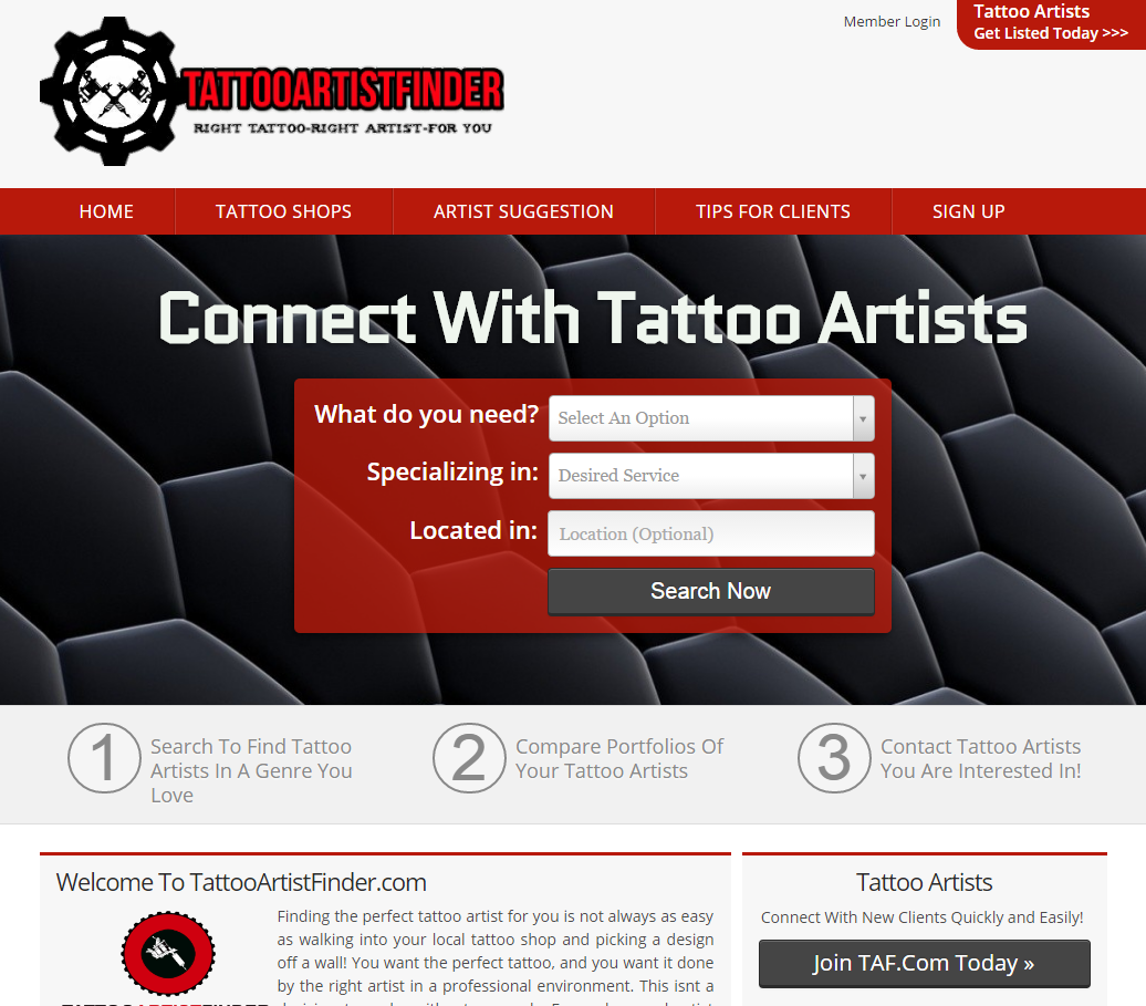 TattooArtistFinder.com